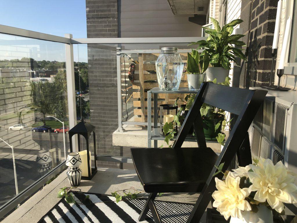 balcon vue de droite
