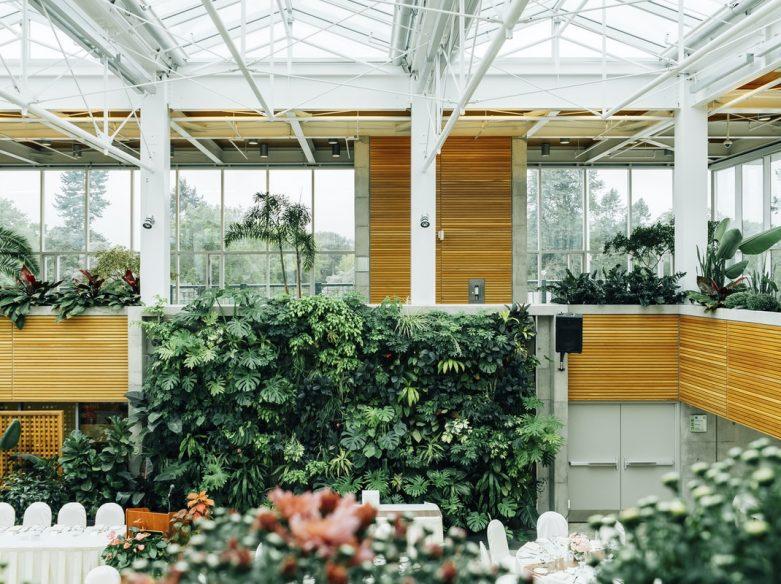 vue du jardin botanique du canada